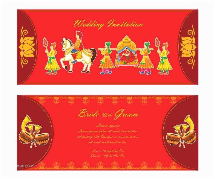 Indian Wedding Invitation Card Template 10 Awesome Indian Wedding Invitation Templates You Will