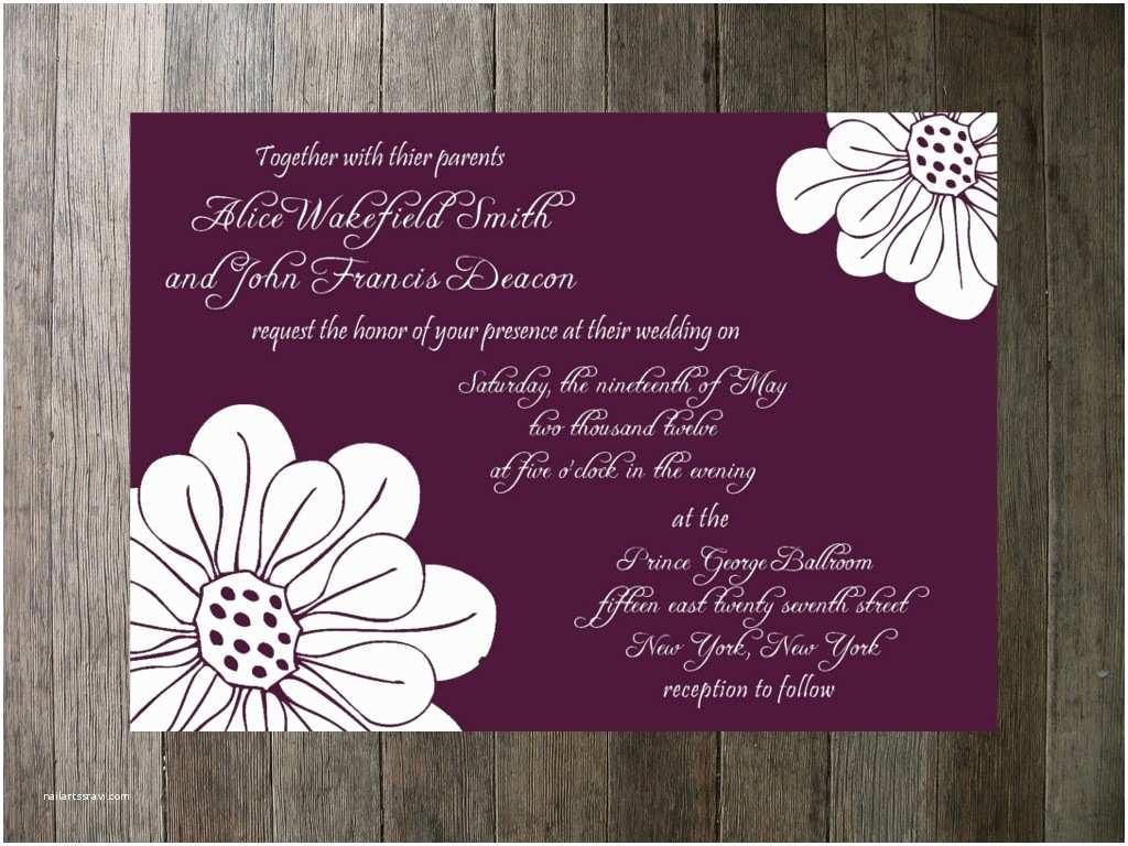 Indian Wedding Invitation Card Template Hindu Wedding Cards