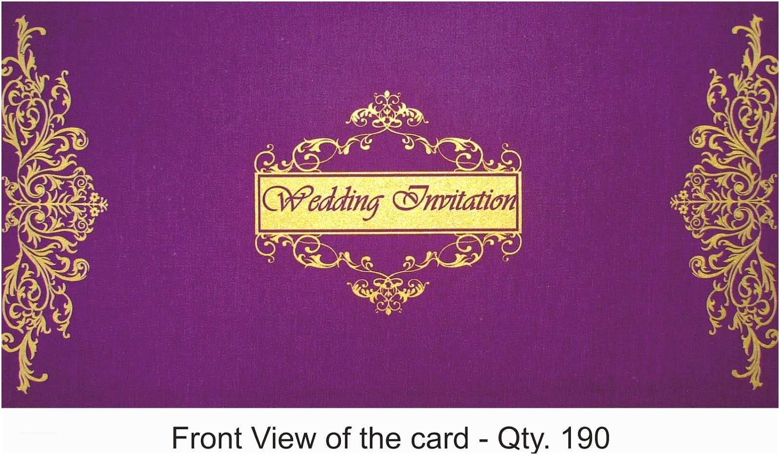 Indian Wedding Invitation Card Template Indian Wedding Card Shoppe Indian Wedding