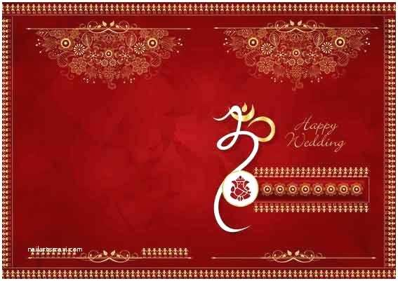 Indian Wedding Invitation Card Template Indian Wedding Invitation Background Designs Free Download