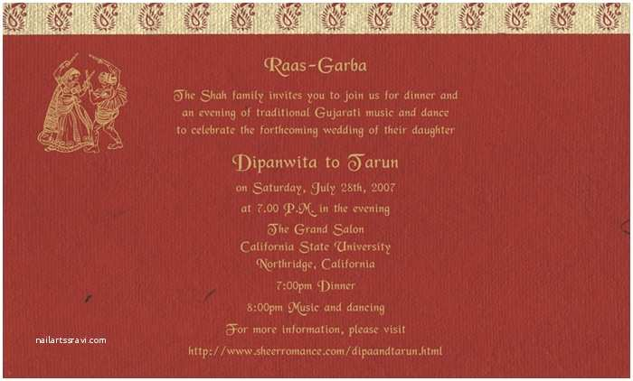 Indian Wedding Invitation Card Template Indian Wedding Invitation Wording Template Shaadi
