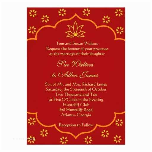 Indian Wedding Invitation Card Template Wedding Invitation Wording Wedding Invitation Templates