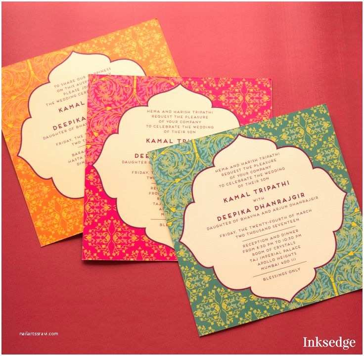 Indian Wedding Invitation Cards 25 Best Indian Wedding Cards Ideas On Pinterest