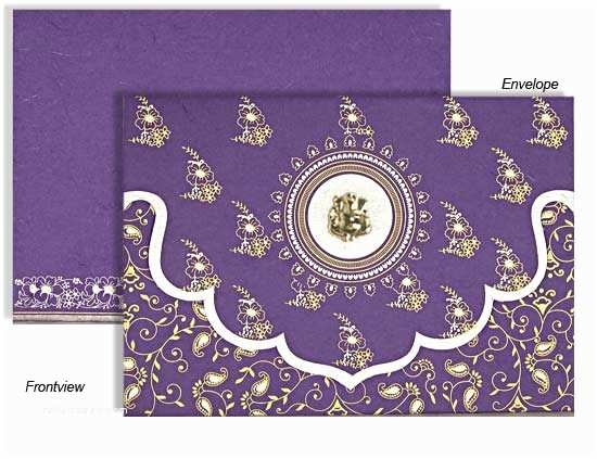 Indian Wedding Invitation Cards A Wonderful Gala with Beautiful and Stylish Hindu Wedding