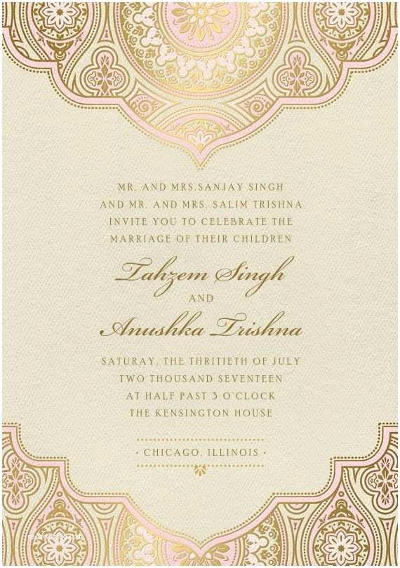 Indian Wedding Invitation Cards Best 25 Indian Wedding Cards Ideas On Pinterest