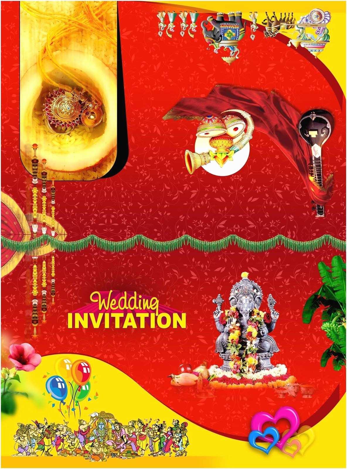 Indian Wedding Invitation Designs Free Download Invitation