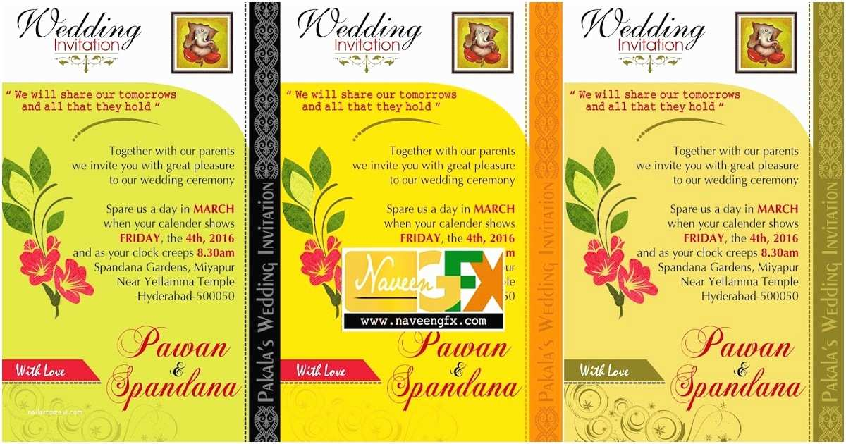 Indian Wedding Invitation Designs Free Download Personal Wedding Invitation Wordings for Friends for
