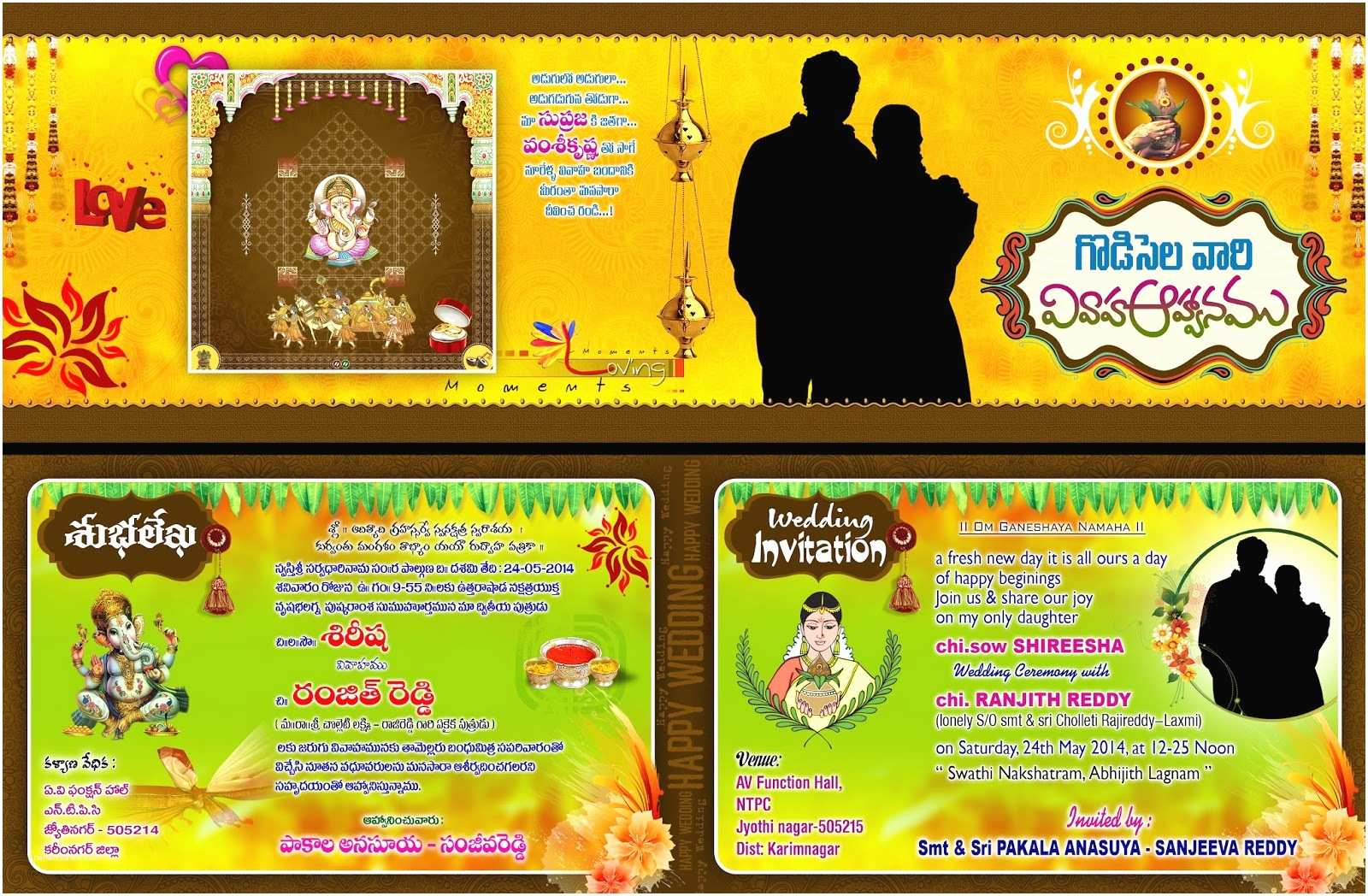Indian Wedding Invitation Designs  Download Wedding Card Design Best Psd Template
