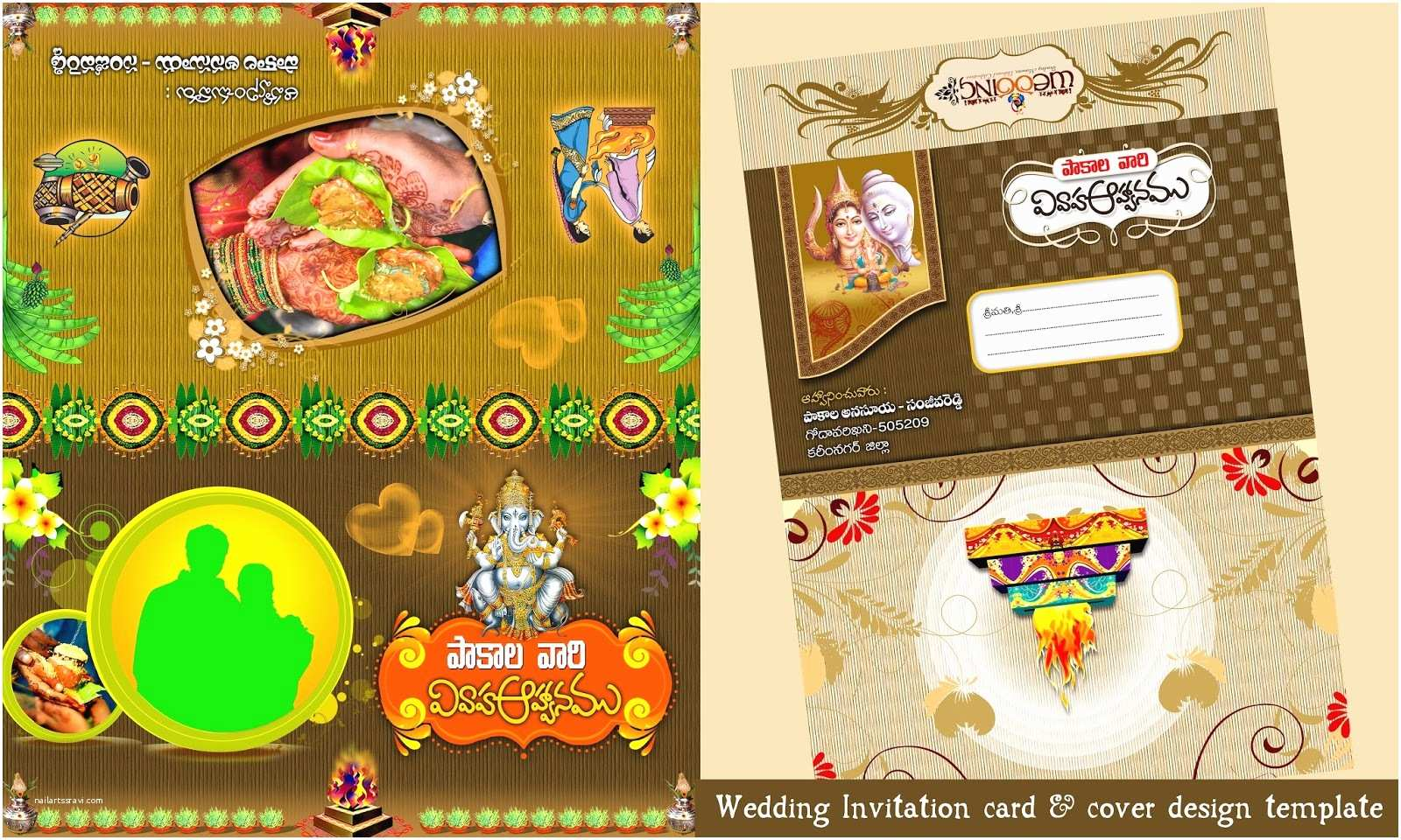 Indian Wedding Invitation Designs  Download Wedding Invitations Card Design Psd Template