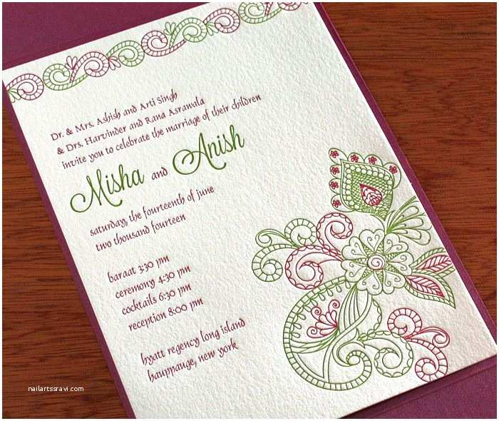 Indian Wedding Invitation Wording top Indian Wedding Invitation Cards