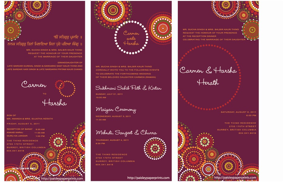 Indian Wedding Invitations Indian Wedding Invitations Ideas How to Create Indian