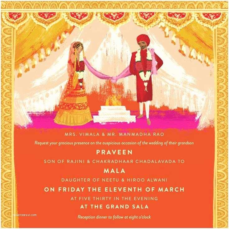 Indian Wedding Invitations Indian Wedding Invitations