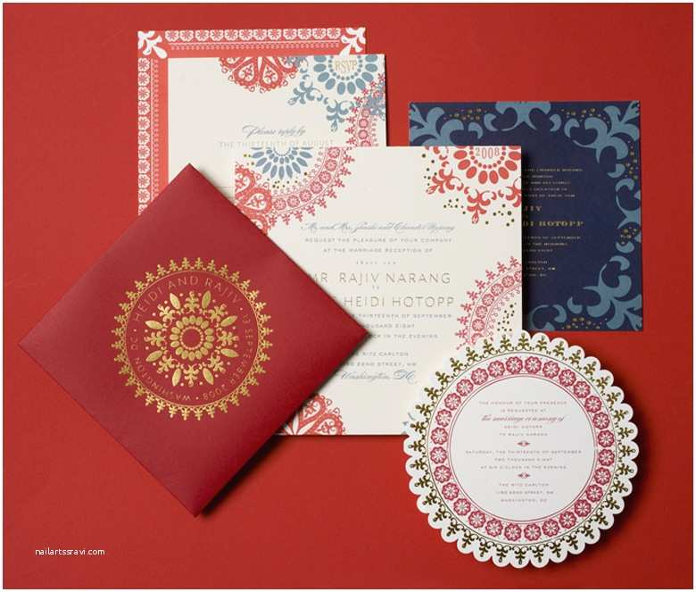 Indian Wedding Invitations Online Indian Wedding Invitations by Cheree Berry