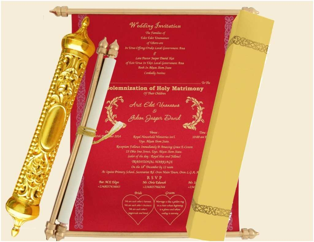 Indian Wedding Invitations Usa Indian Scroll Wedding Cards