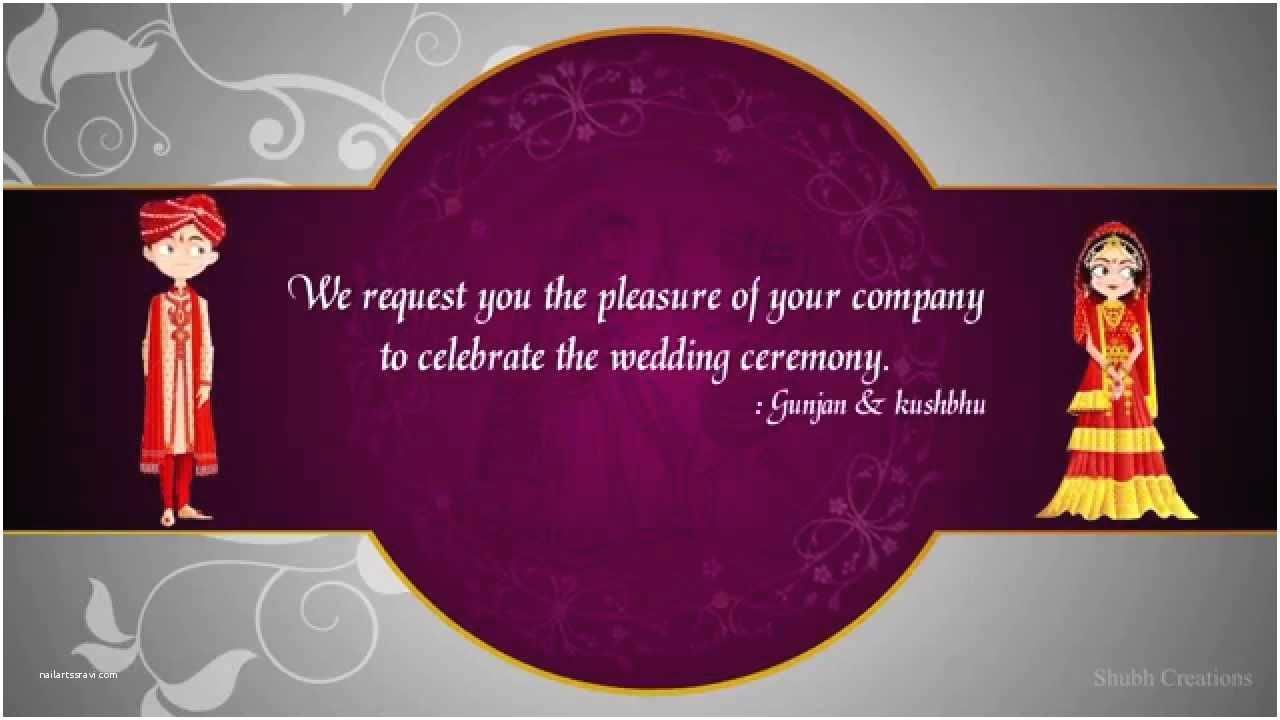 Indian Wedding Invitations Wedding Invitation Templates Indian Wedding Invitation