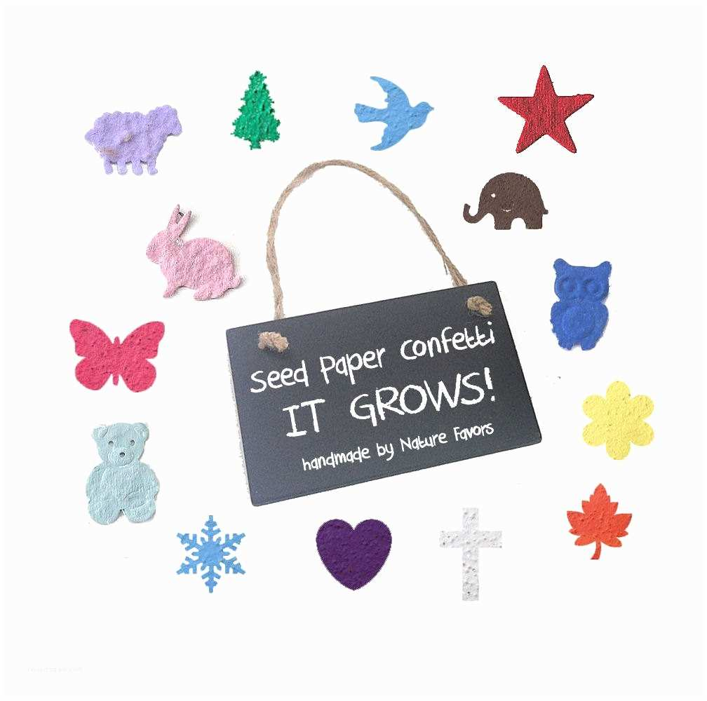 Inexpensive Plantable Wedding Invitations 200 Plantable Seed Paper Confetti Diy Wedding Favors Place