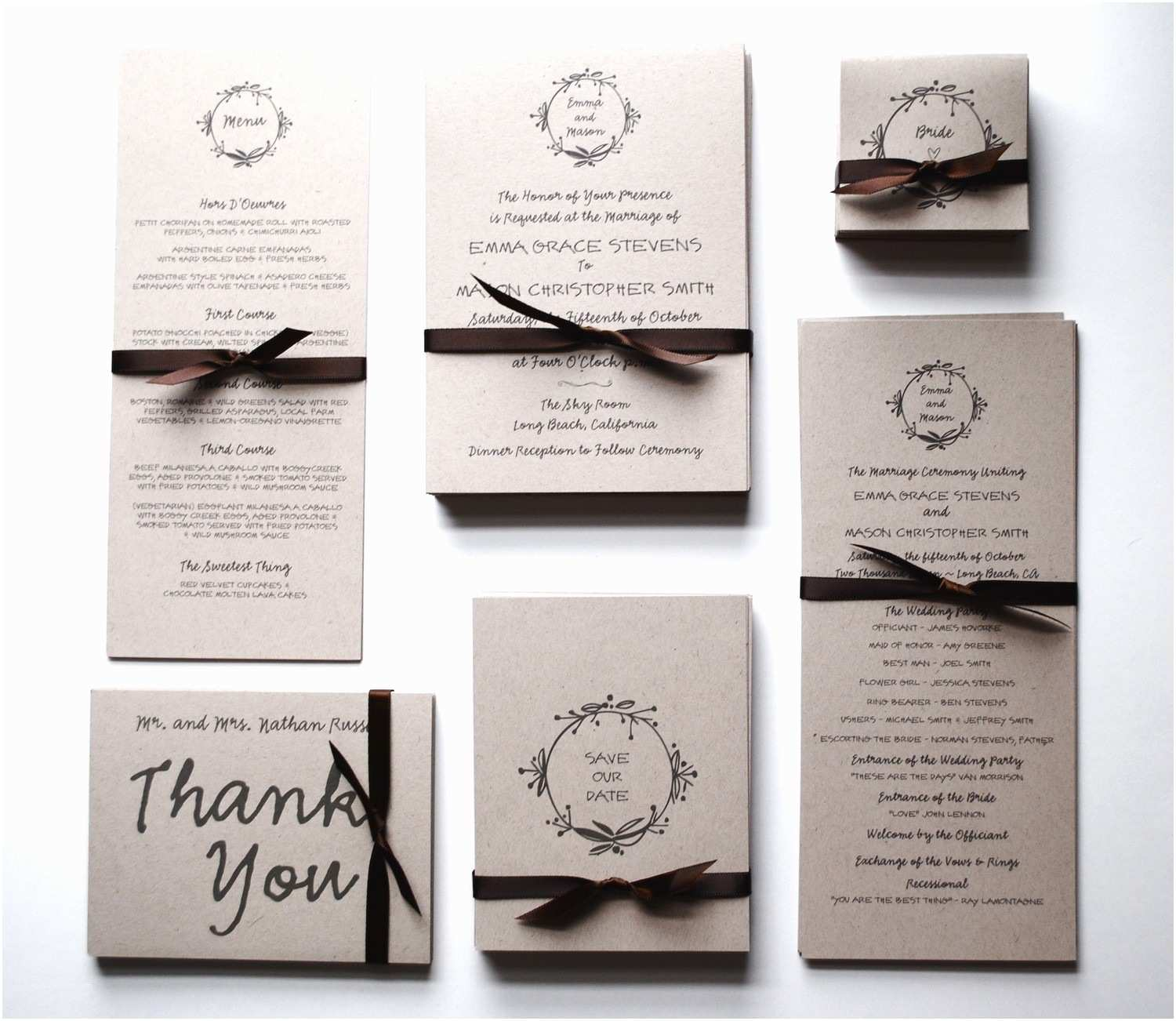 Inexpensive Wedding Invitation Packages Create Own Cheap Wedding Invitation Kits