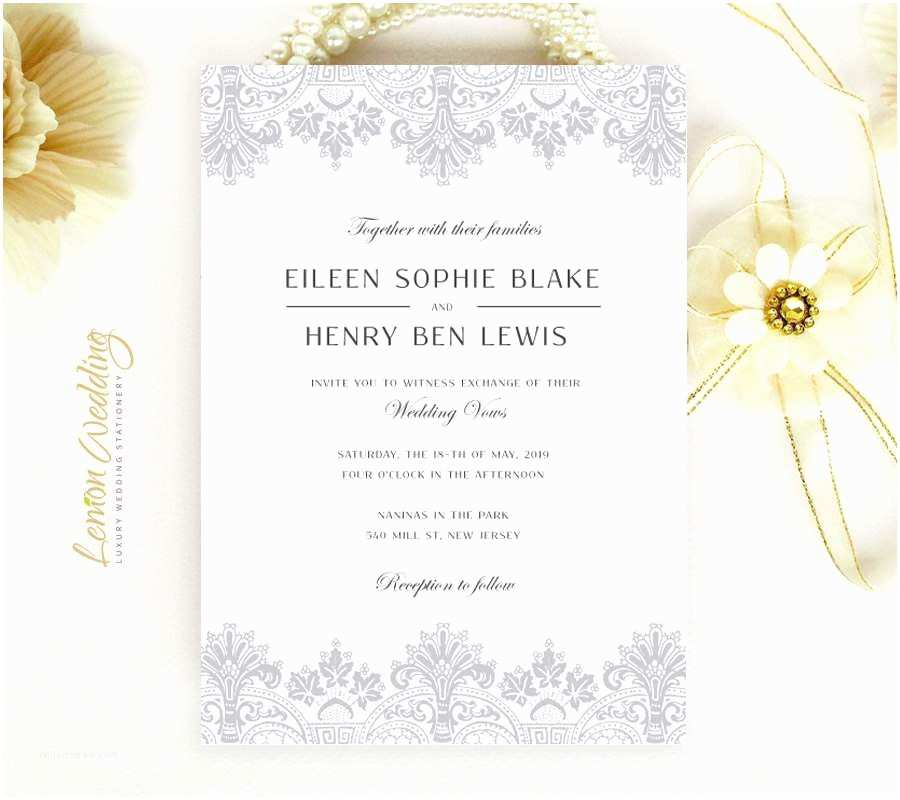 Inexpensive Wedding Invitation Packages Discount Wedding Invitations