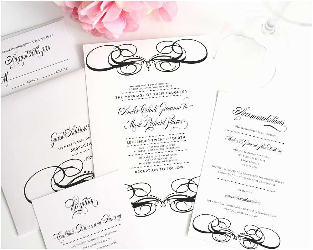 Inexpensive Wedding Invitation Packages top Album Wedding Invitations Packages