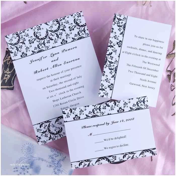 Inexpensive Wedding Invitation Packages Wedding Invitation Cheap Package