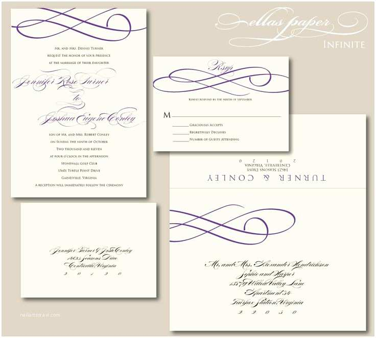 Infinity Symbol Wedding Invitations the Gallery for Wedding Symbols for Invitations