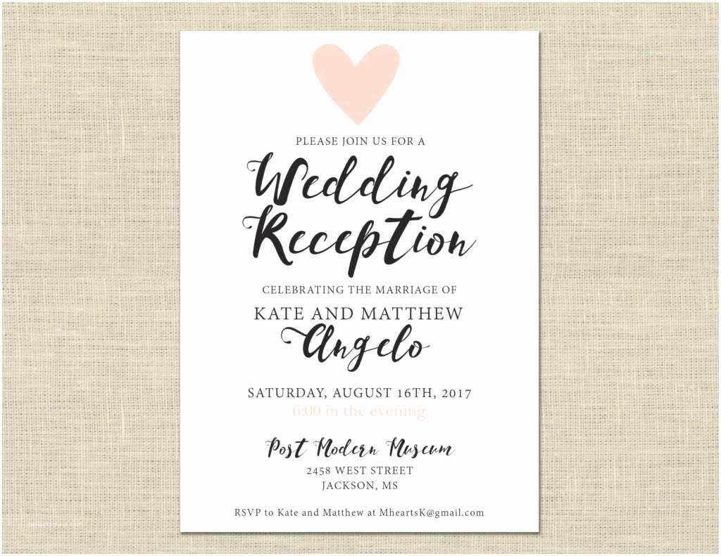 Informal Wedding Invitation Wording Casual