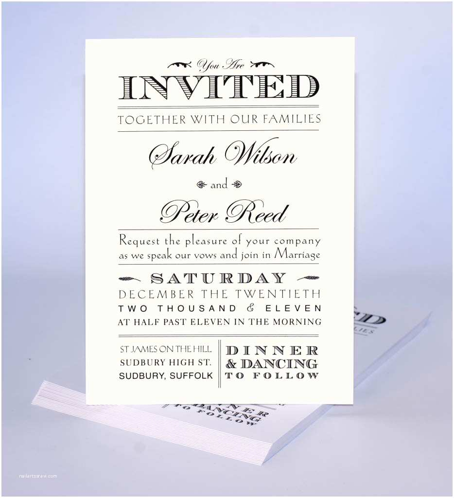 Informal Wedding Invitation Wording Informal Wedding Invitation