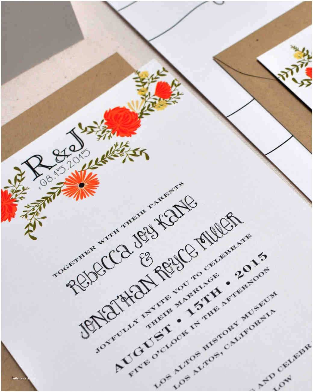 Informal Wedding Invitations 8 Details to Include when Wording Your Wedding Invitation