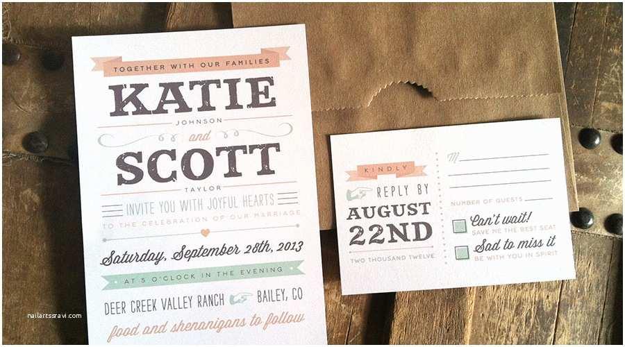 exclusive informal wedding invitation wording