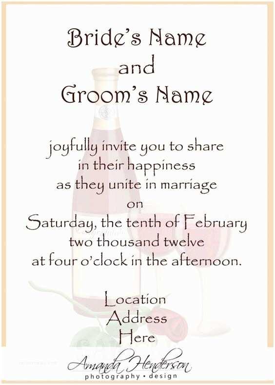 Informal Wedding Invitations Informal Wedding Invitation Wording Afrikaans