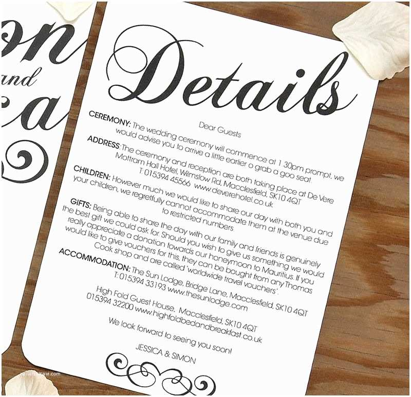 Information to Include On Wedding Invitation Vintage Wedding Invitation Sample Set Doodlelove