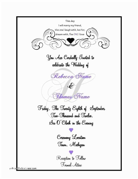 Information to Include On Wedding Invitation Wedding Invitation Luxury What Information to Put A