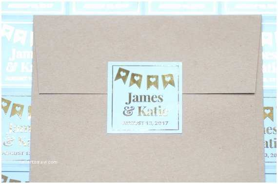 Initial Stickers for Wedding Invitations 9 Personalized Wedding Sticker Labels Wedding Invitation