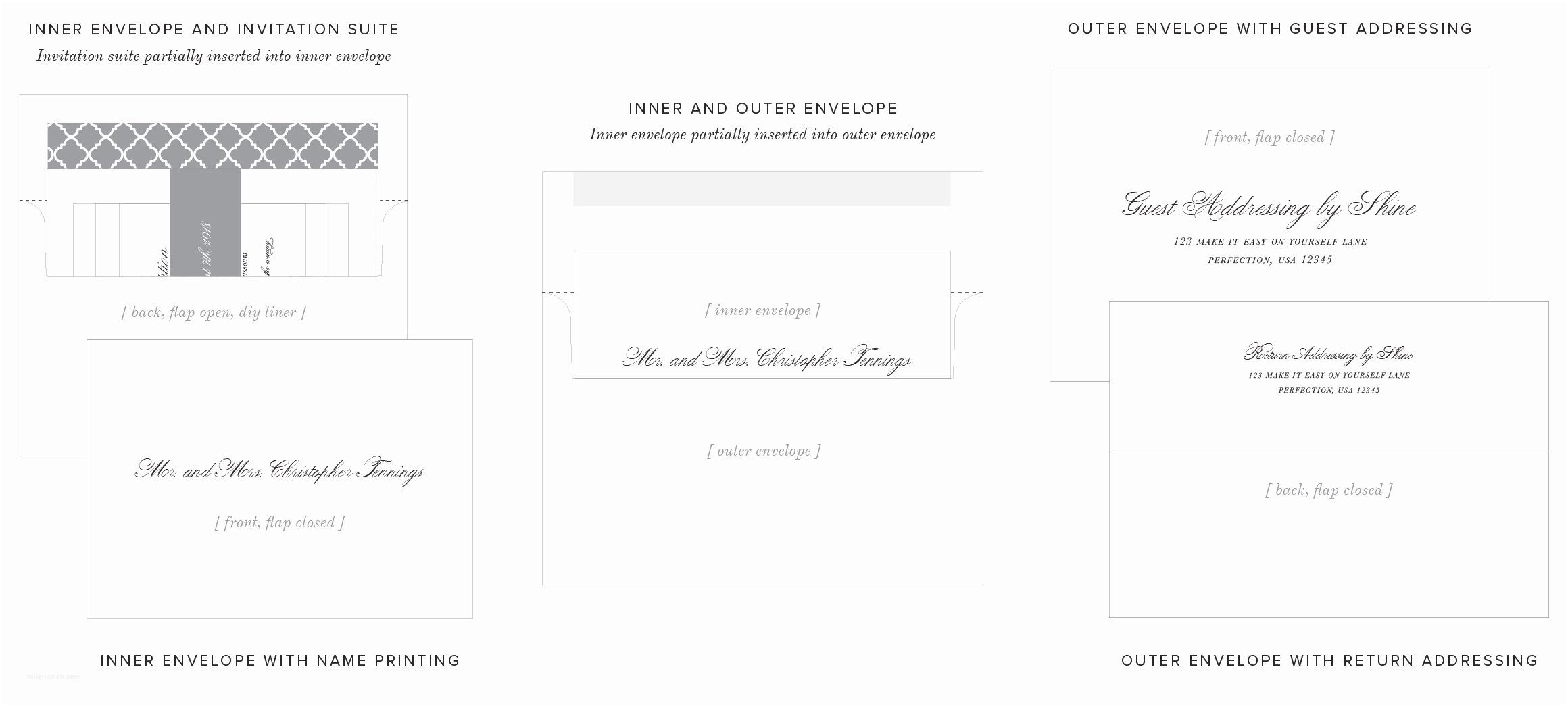 Inner and Outer Envelope Sizes for Wedding Invitations Outer Envelope Wedding Invitation Yourweek Cae945eca25e