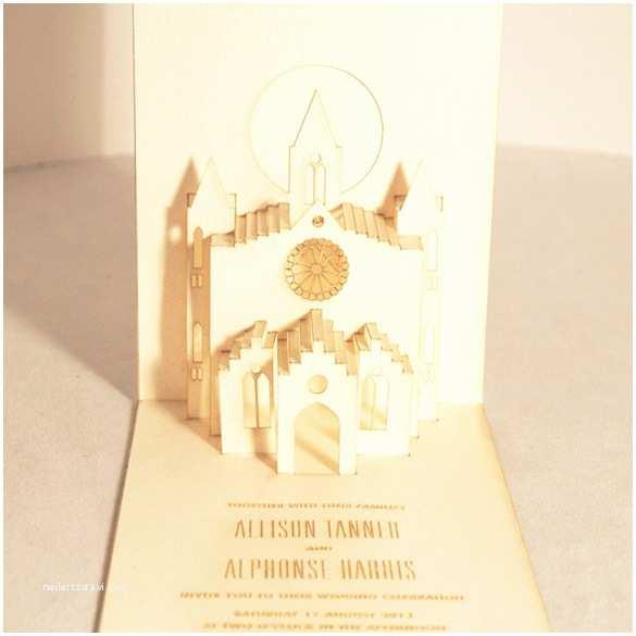 Interactive Wedding Invitations Handmade Wedding Invitations Pop Out Wedding Invitations