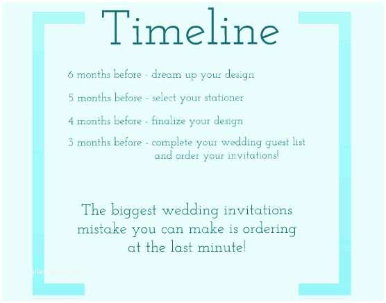 Interactive Wedding Invitations Wedding Invitation Timeline – Gangcraft