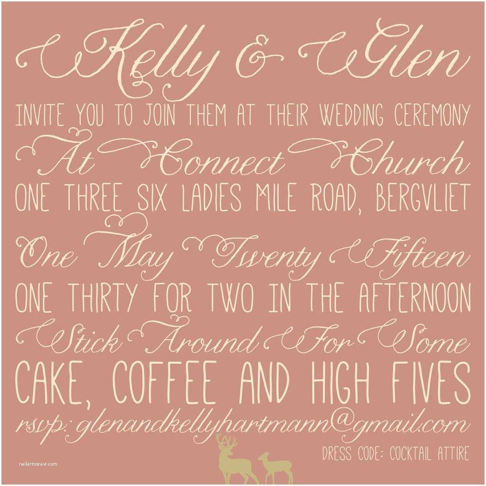 Intimate Wedding Invitation Wording Our Wedding Invitations