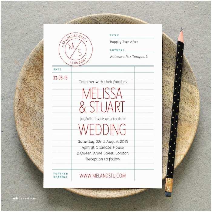 Intimate Wedding Invitations 10 Unique Wedding Invitations