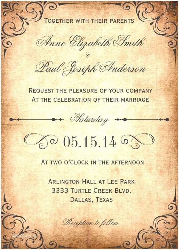 Intimate Wedding Invitations 28 Wedding Invitation Wording Templates – Free Sample