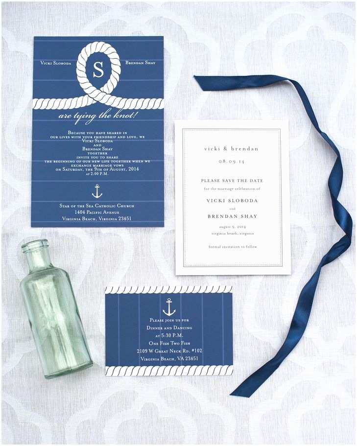 Intimate Wedding Invitations An Intimate Nautical Wedding At E  Two
