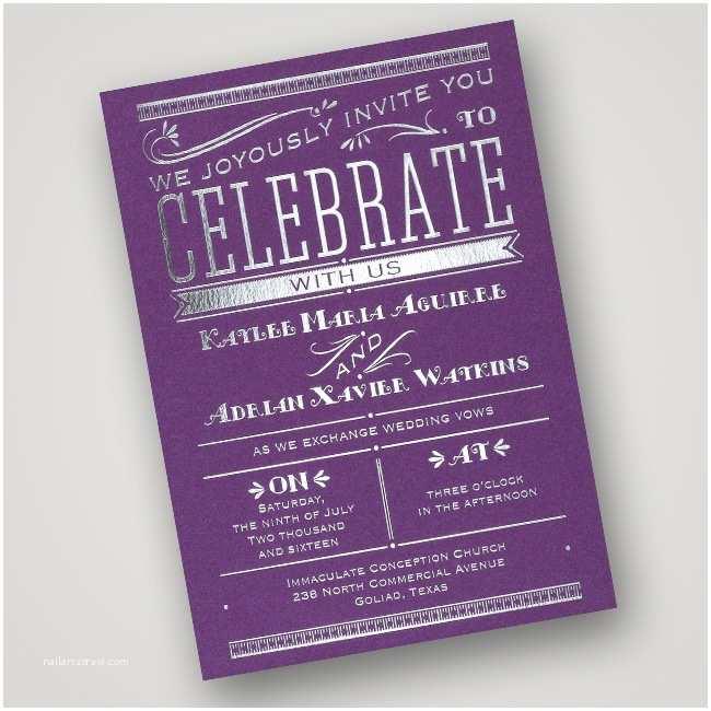Intimate Wedding Invitations Glamorous Wedding Stationery From Invitations by Dawn