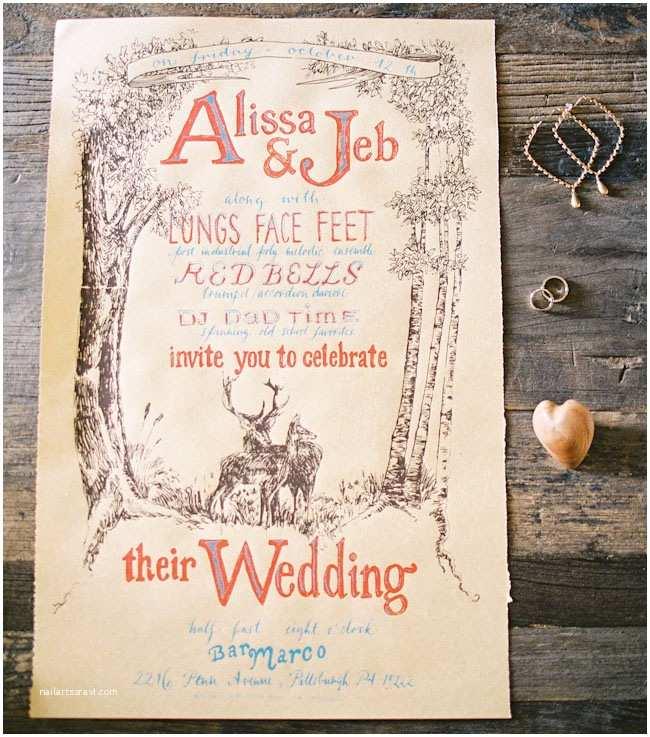 Intimate Wedding Invitations Intimate Backyard Harvest Wedding Alissa Jeb