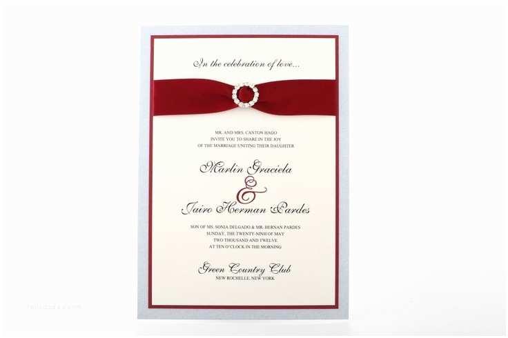 Intimate Wedding Invitations Intimate Wedding Invitation