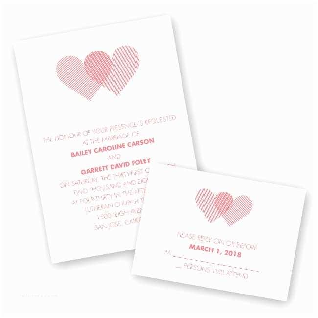 Intimate Wedding Invitations Raised Ink Wedding Invitations From Ann S Bridal Bargains