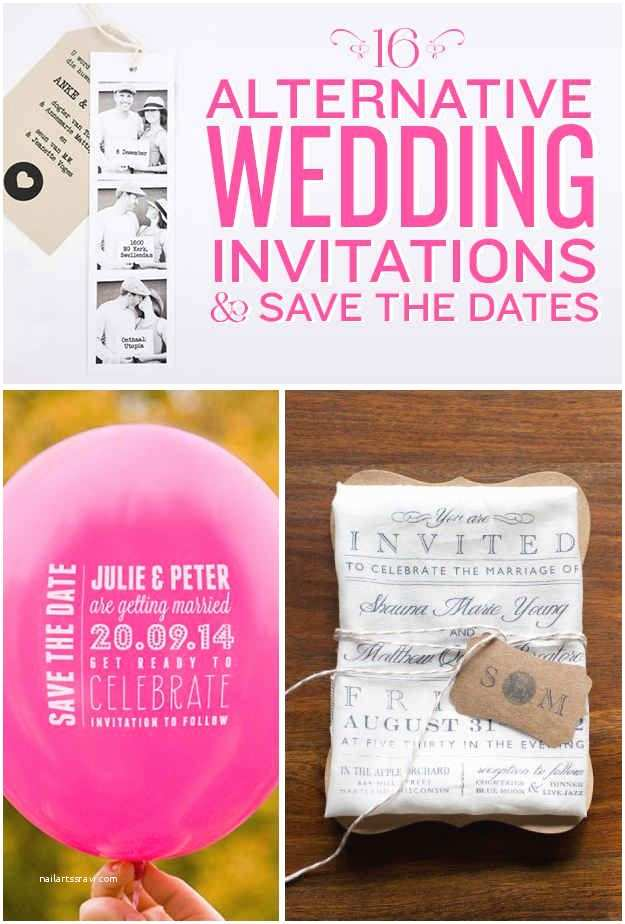 Invisible Ink Wedding Invitations 16 Alternative Wedding Invitations and Save the Dates