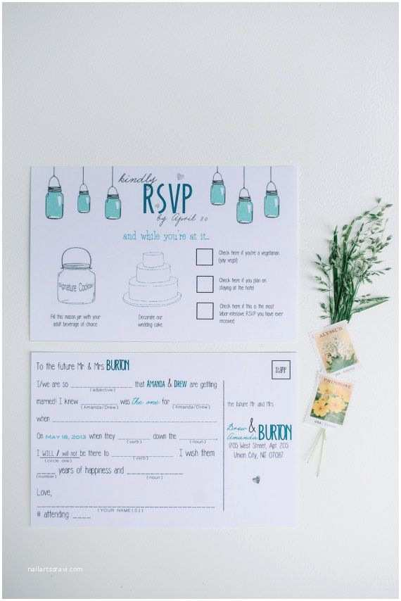 Invisible Ink Wedding Invitations 17 Best Images About Wedding Mad Lib Rsvp On Pinterest