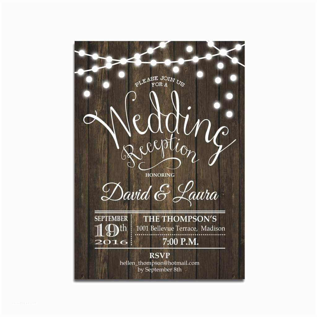 Invitation Only Wedding Reception Ly Wedding Invitations Wedding