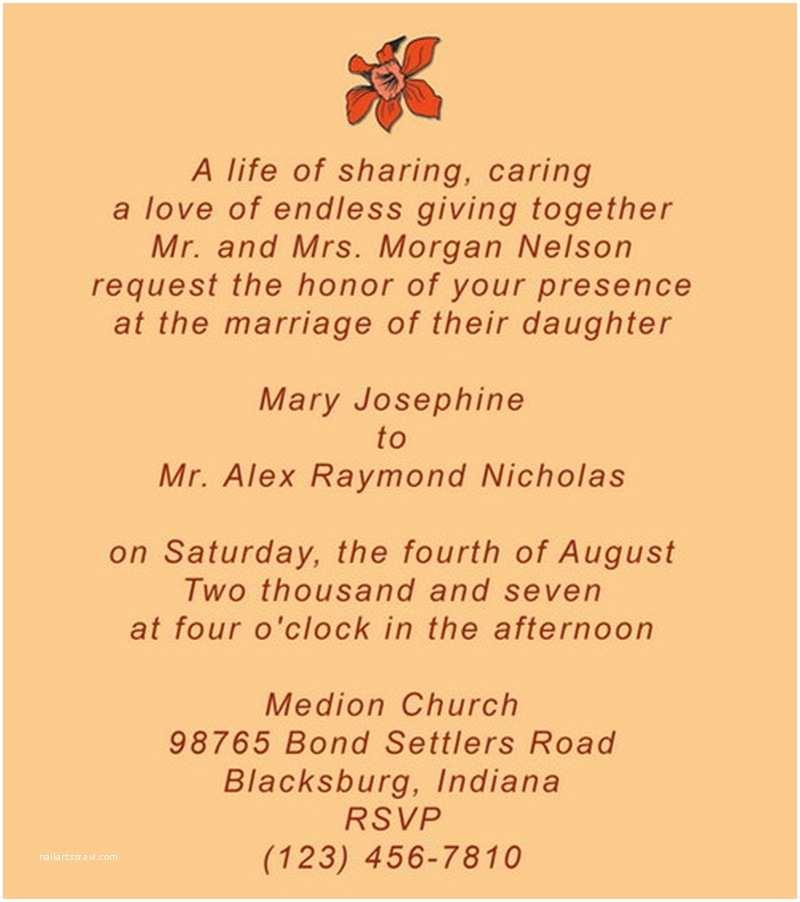 Invitation Sayings for Weddings Wedding Invitation Quotes