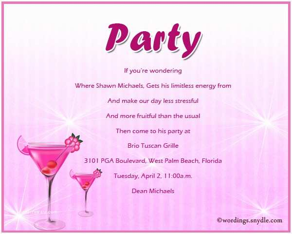 Invitation Wording for Adults Only Party Adult Party Invitation Wording Wordings and Messages