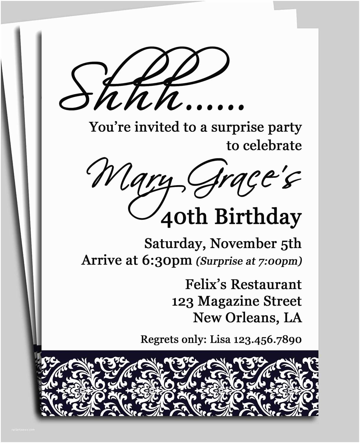 Invitation Wording for Adults Only Party Free Printable Birthday Invitation Cards with Best